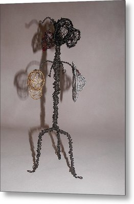 Hang Your Hat Metal Print by Charlene White