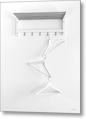 Metal Print featuring the photograph Hangers No. 2 by Joe Bonita