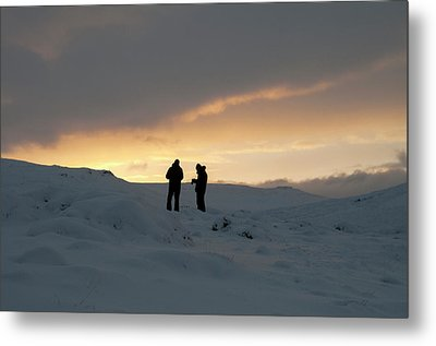 Metal Print featuring the photograph Hanging Around Iceland by Dubi Roman