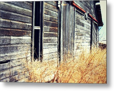 Metal Print featuring the photograph Hanging By A Bolt by Julie Hamilton