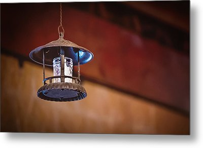 Metal Print featuring the photograph Hanging Lantern by April Reppucci