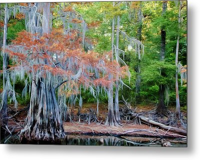 Metal Print featuring the photograph Hanging Rust by Lana Trussell