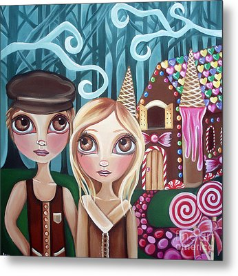 Hansel And Gretel Metal Print by Jaz Higgins