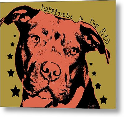 Happiness Is The Pits Metal Print by Dean Russo