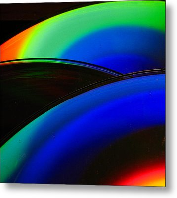 Happiness Metal Print by Sandy Poore