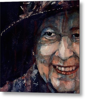 Happy 90th Birthday Elizabeth 11 Metal Print by Paul Lovering