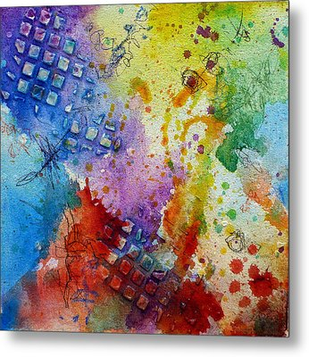 Happy Accidents Metal Print by Tracy Bonin