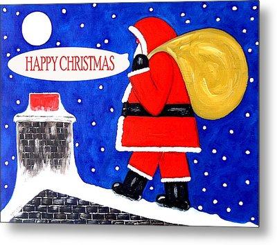 Happy Christmas 12 Metal Print by Patrick J Murphy