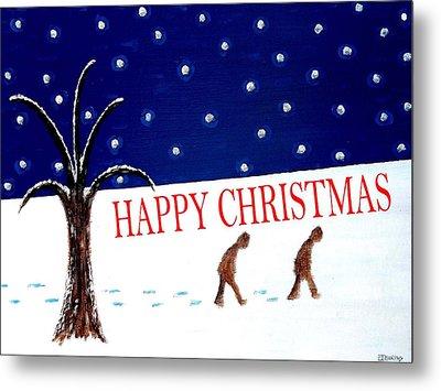 Happy Christmas 15 Metal Print by Patrick J Murphy