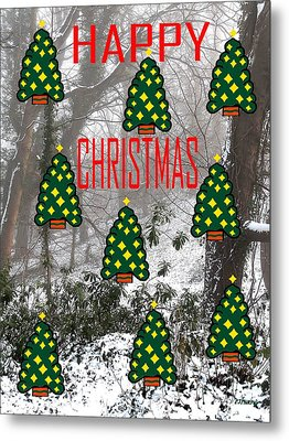 Happy Christmas 22 Metal Print by Patrick J Murphy