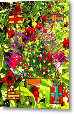 Happy Christmas 25 Metal Print by Patrick J Murphy