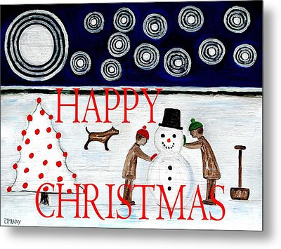 Happy Christmas 29 Metal Print by Patrick J Murphy