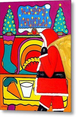 Happy Christmas 30 Metal Print by Patrick J Murphy