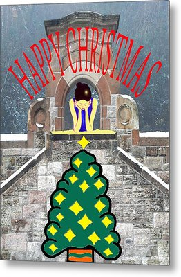 Happy Christmas 31 Metal Print by Patrick J Murphy