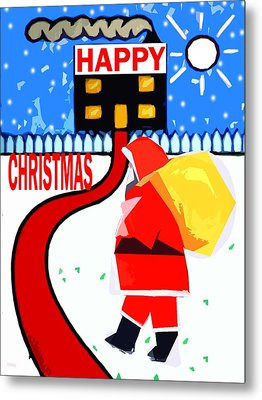 Happy Christmas 80 Metal Print by Patrick J Murphy