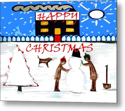 Happy Christmas 82 Metal Print by Patrick J Murphy