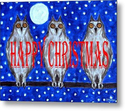 Happy Christmas 94 Metal Print by Patrick J Murphy