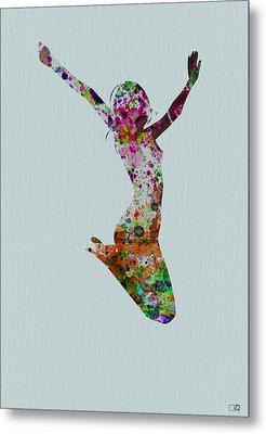 Happy Dance Metal Print by Naxart Studio