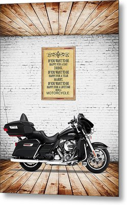 Happy For A Day Metal Print by Mark Rogan