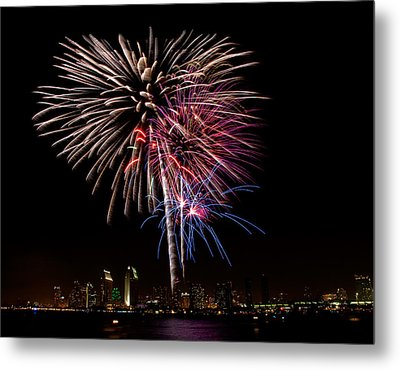 Happy Fourth Of July Metal Print by Thanh Thuy Nguyen