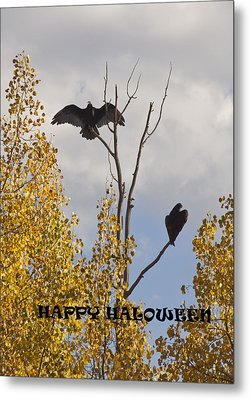 Metal Print featuring the photograph Happy Halloween by Daniel Hebard