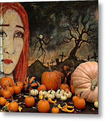 Happy Halloween Metal Print by Jeff Burgess