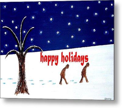 Happy Holidays 5 Metal Print by Patrick J Murphy