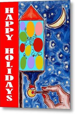 Happy Holidays 59 Metal Print by Patrick J Murphy