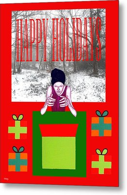 Happy Holidays 63 Metal Print by Patrick J Murphy