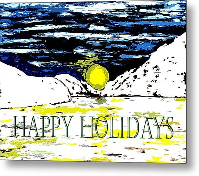 Happy Holidays 82 Metal Print by Patrick J Murphy