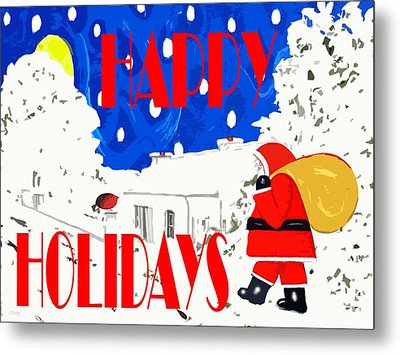 Happy Holidays 86 Metal Print by Patrick J Murphy