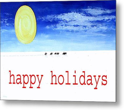 Happy Holidays 92 Metal Print by Patrick J Murphy