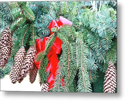 Metal Print featuring the photograph Happy Holidays by Ann Murphy