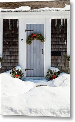 Metal Print featuring the photograph Happy Holidays by Michelle Wiarda