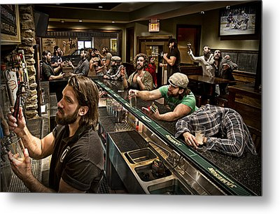 Happy Hour Metal Print by Anthony Benussi