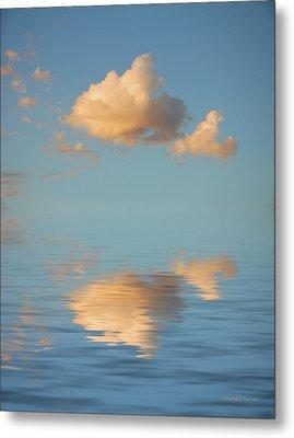 Happy Little Cloud Metal Print by Jerry McElroy