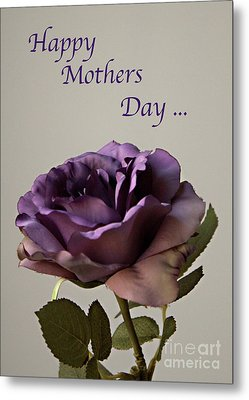 Happy Mothers Day No. 2 Metal Print by Sherry Hallemeier