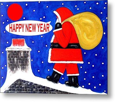 Happy New Year 48 Metal Print by Patrick J Murphy