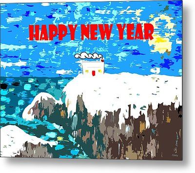 Happy New Year 88 Metal Print by Patrick J Murphy