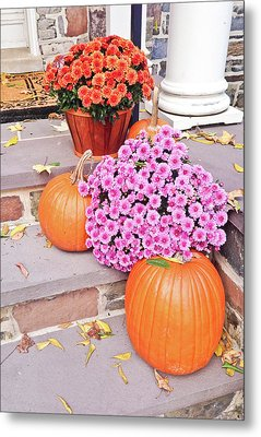 Metal Print featuring the photograph Happy Thanksgiving by Ann Murphy