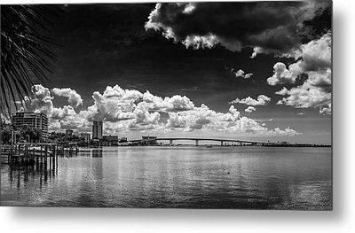 Harbor Bluffs Metal Print by Marvin Spates