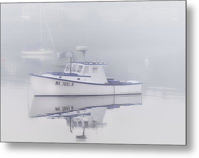 Harbor Mist   Metal Print