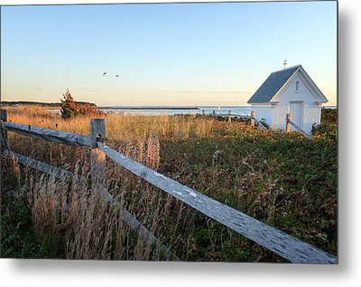 Harbor Shed Metal Print by Bill Wakeley