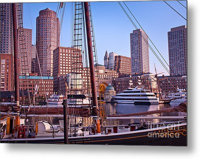 Harbor Sunrise Metal Print by Susan Cole Kelly