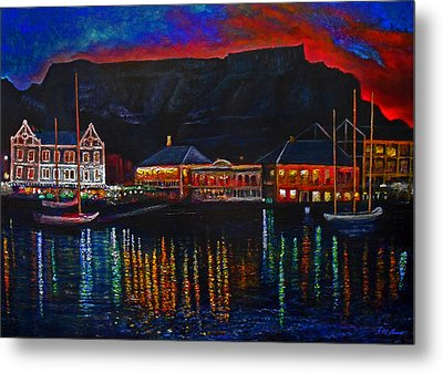 Harbour Lights Metal Print by Michael Durst