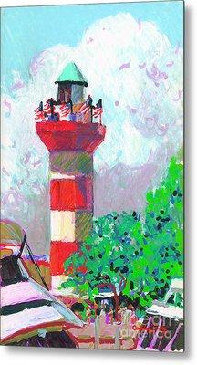 Harbour Town Light House Metal Print