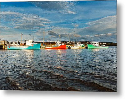 Harbour Metal Print by Ulrich Schade