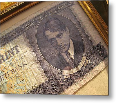 Metal Print featuring the photograph Hard Currency by Lindie Racz