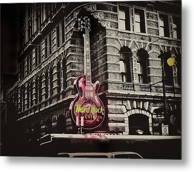Hard Rock Philly Metal Print by Bill Cannon