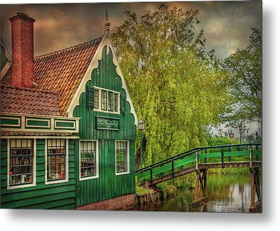 Metal Print featuring the photograph Haremakerij At The Brook by Hanny Heim